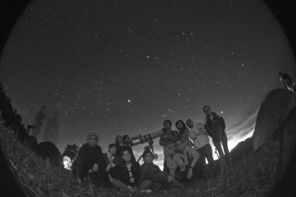Members of the Philippine Astronomical Society